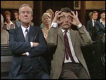 Mr Bean bored in church[1]